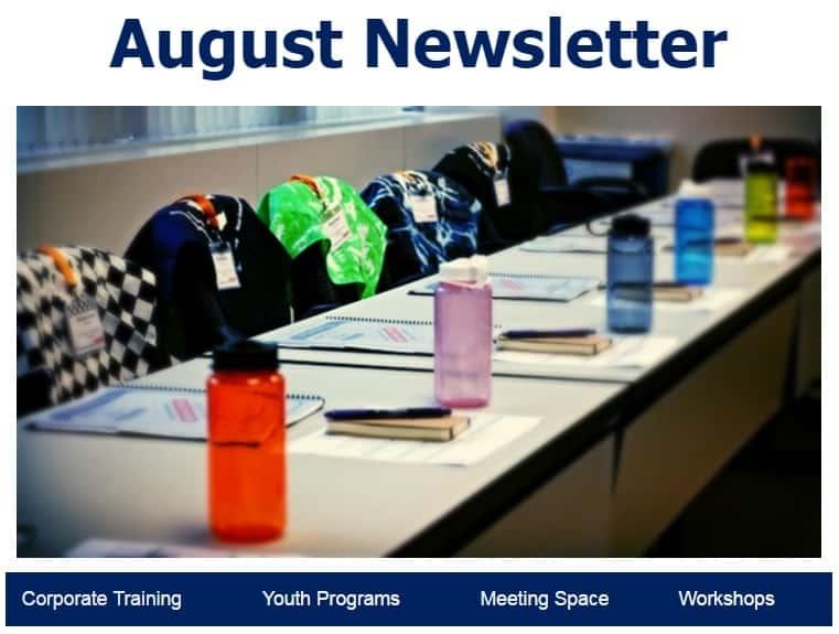 August header