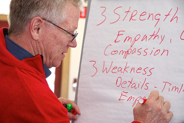 Corporate training exercise